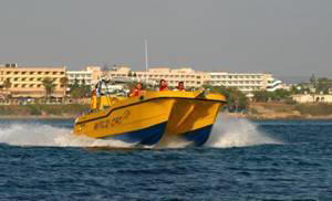 Wildcat is available for group and private charters around the coats of Paphos and Pissouri